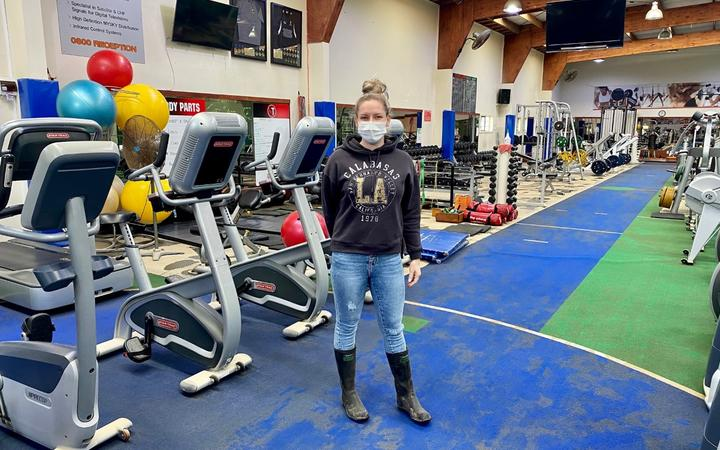 Casey Keegan, owner of the gym, expects little to be saved because the water was polluted.
