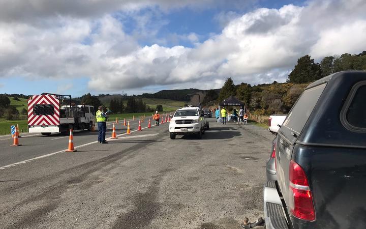 Police and the Tai Tokraw Border Patrol are examining the necessary travel between Wanghari, Kekoh and Karikari on State Highway 1.