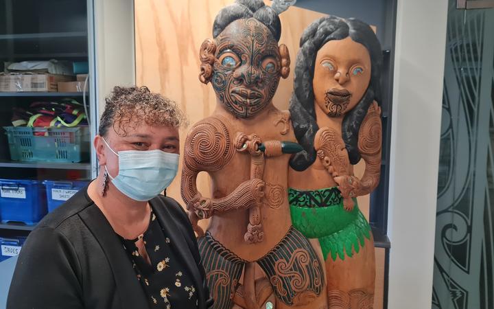 Maria T. Kanawa, Tamu Wakare (General Manager) Raukawa Charitable Trust.