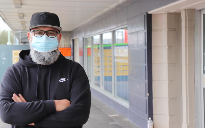 Pastor Warren Hack talked to Hawks Bay DHB about vaccinating homeless people with whom he worked.