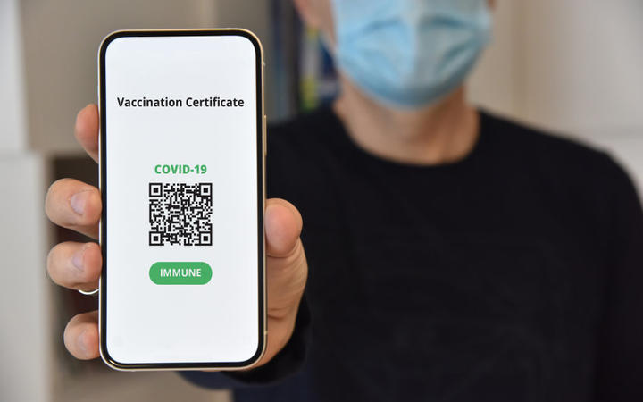 New Zealand's 'vaccine passport' is likely to be a digital Covid-19 vaccination certificate containing a QR code.