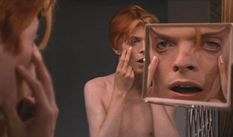 David Bowie in The Man Who Fell to Earth.