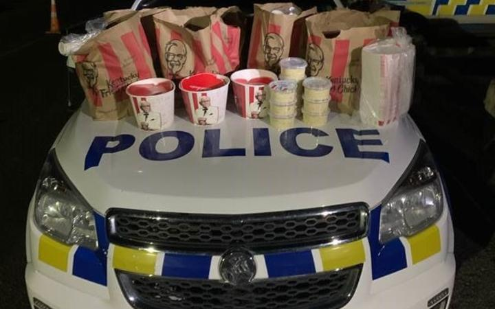 Police say the offenders were found with
