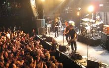 Shihad  live at The Powerstation in Auckland.