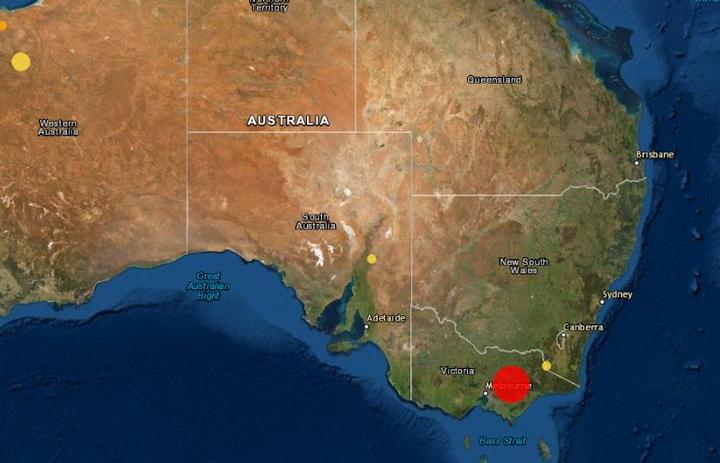 A magnitude 6 quake rattled Victoria on Wednesday.