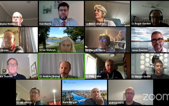 Almost 300,000 people from throughout the world have watched a Waipā District Council Zoom meeting on YouTube, many pretending they're actually in a