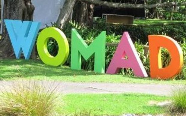 Womad letter sign