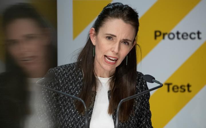 -POOL- Photo by Mark Mitchell: Prime Minister Jacinda Ardern arriving during the the post-Cabinet press conference with director general of health Dr Ashley Bloomfield at Parliament, Wellington. 04 October, 2021.  NZ Herald photograph by Mark Mitchell
