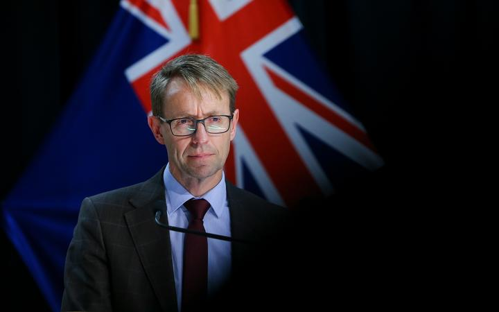 WELLINGTON, NEW ZEALAND - OCTOBER 12: Director-General of Health Dr Ashley Bloomfield speaks to media during a press conference at Parliament on October 12, 2021 in Wellington, New Zealand.