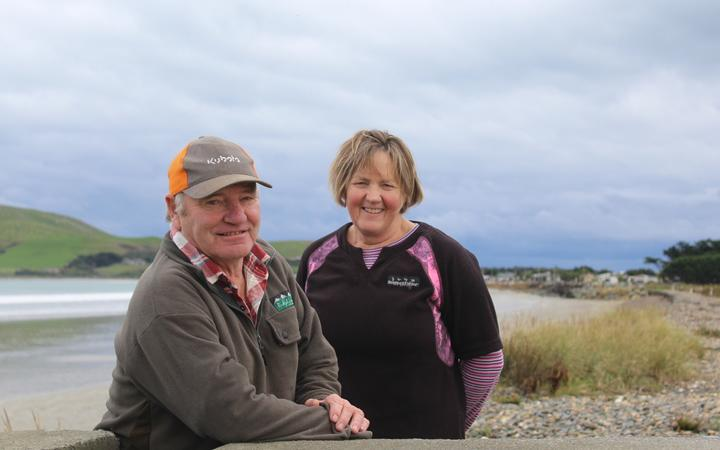 Alan and Deen McKay have been battling the council over the road and adjacent dump site for about seven years.