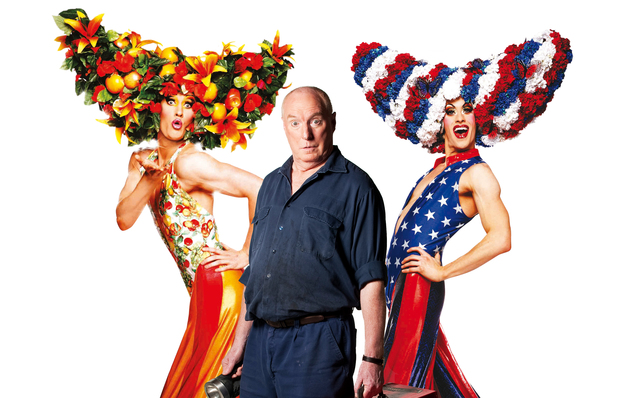 Ray Meagher playing Bob the mechanic in Priscilla Queen of the Desert