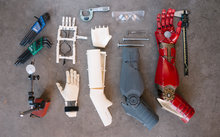 Iron man bionic arm