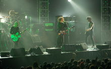 The Cure live in Singapore 2007