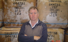 Peter Tate from Fred Tate Wools Ltd