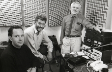 The Spectrum team 1980s Jerome Cvitanovich, Jack Perkins and Alwyn Owens
