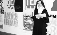 Roman Catholic nun, activist and artist Sister Corita Kent