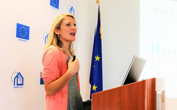 Dr. Serena Kelly, National Centre for Research on Europe.