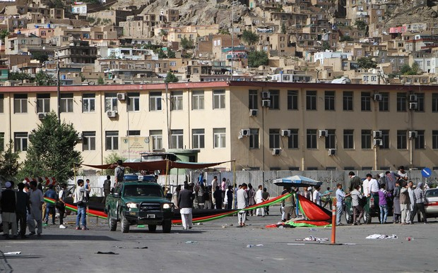 Afghanistan mourns after bombing attack