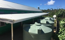 Nine water tanks have been installed in Ha'apai by the New Zealand Defence Force.