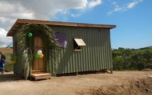 A newly built Habitat for Humanity home in Fiji