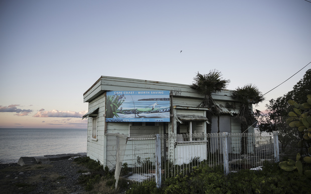 25072016 Photo Rebekah Parsons-King. Haumoana residents have been pressuring council to help them protect their homes along the coast.