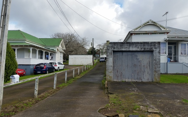 Villas on the site of the planned Onehunga Mall development.