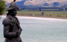 A statue depicting Captain Cook on Gisborne's Kaiti Hill has been repeatedly vandalised in recent years.