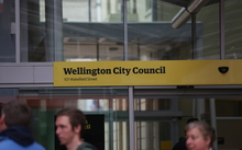 23062016 Photo: RNZ / Rebekah Parsons-King. Wellington City Council.