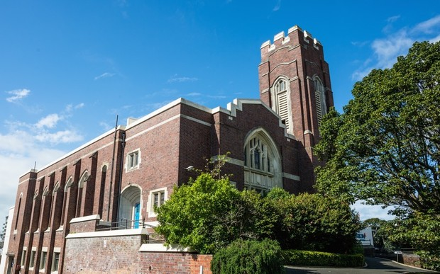St David's Church was built in 1927 but it now meets less than 30 percent of building code requirements.
