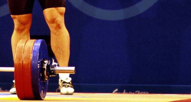 Nigel Avery. Weightlifting. 2000 Sydney Olympics. Sydney, Australia. September 2000