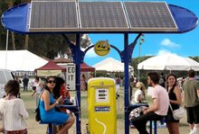 SolarPump electric charging station