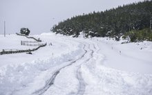 Up to 60cm of snow fell on the Napier-Taupo Road (State Highway 5) over the weekend.