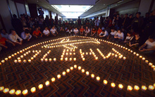 MH370 prayer service