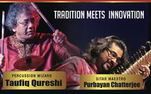 Mumbai Unplugged, a concert featuring Indian musicians Purbayan Chatterjee and Taufiq Qureshi