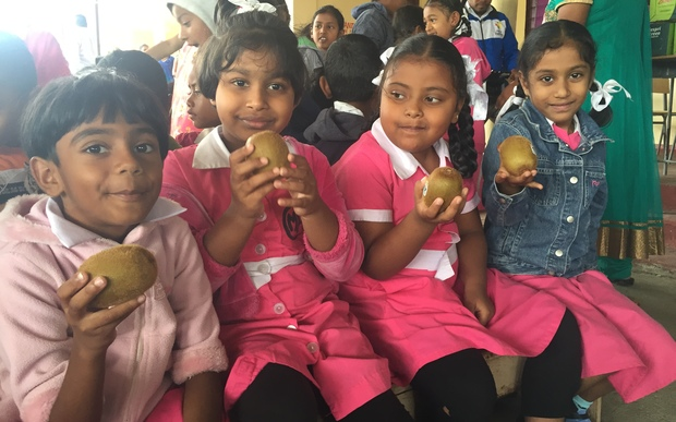 Tonnes of kiwifruit delivered to cyclone-hit Fiji