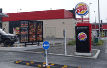 Burger King on the corner of Linwood Ave in Christchurch
