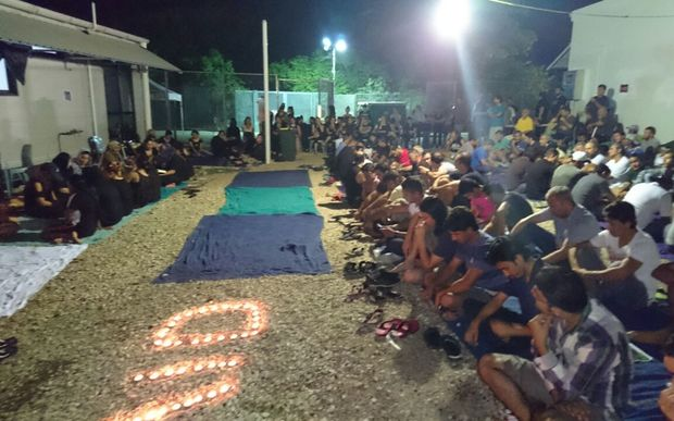 Commemoration on Nauru for Iranian man who died after setting himself ablaze