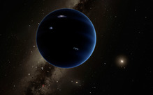Artists Impression of Planet 9
