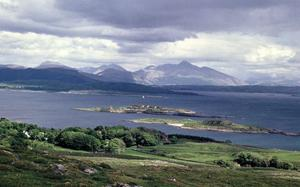 The view from Barr Mor on the Isle of Lismore, Marshall Walker's favourite spot on his favourite island.