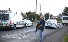 The Armed Offenders Squad is in Papakura where a man is believed to be inside a house with a firearm.