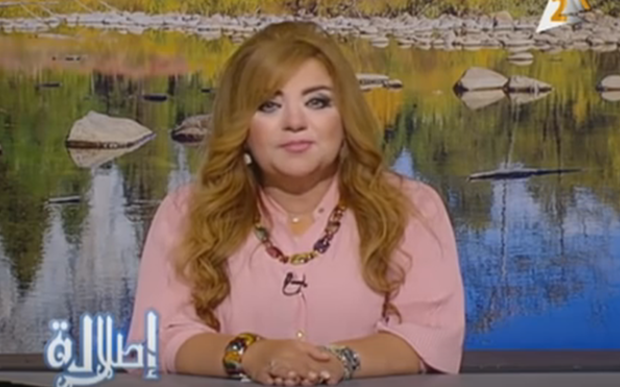Khadija Khattab is one of eight television presenters who have been suspended because of their weight.
