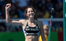 Pole vaulter Eliza McCartney, 19, has won bronze at her first Olympics.