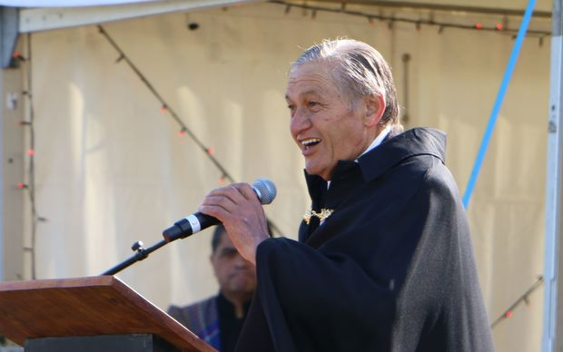 Māori King Kiingi Tuheitia makes his annual speech at Turangawaewae.