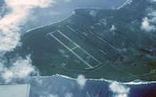 Tinian North Field, Northern Marianas, the largest US air base during World War II.