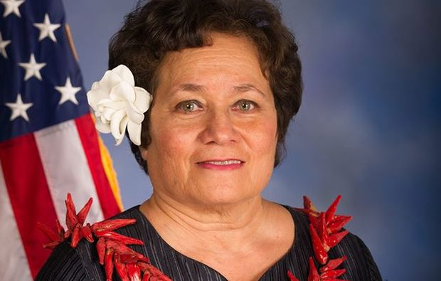 Incumbent Congresswoman Aumua Amata is seeking a second term.