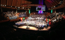 Massed Choir during the 2015 finale of the Big Sing