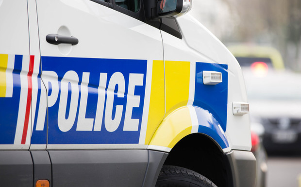 Police van out in South Auckland