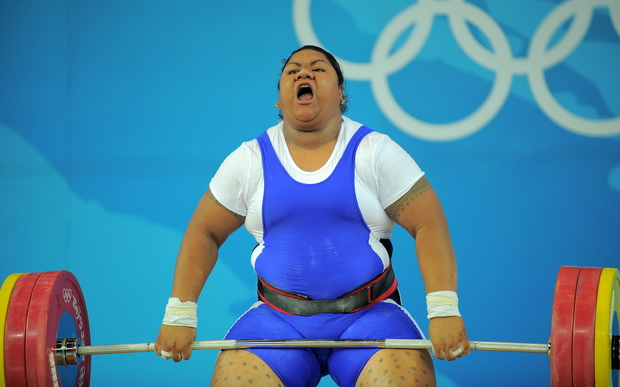 Ele Opeloge initially finished in fourth place in the women's over 75kg division at the 2008 Olympic Games.