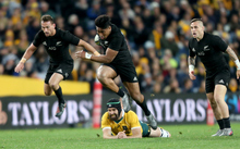 Australia v New Zealand, Test Match Rugby. Played at ANZ Stadium, Sydney Australia on Saturday 20 August 2016. C