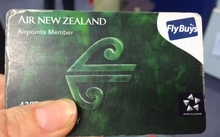 Fly Buys and Air Points  combined card